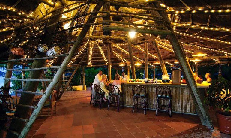 Galley Bay Resort & Spa teepee bar