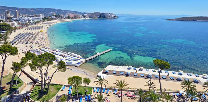 Magaluf resort in Mallorca
