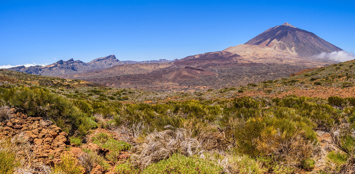 Mount Teide on Tenerife island