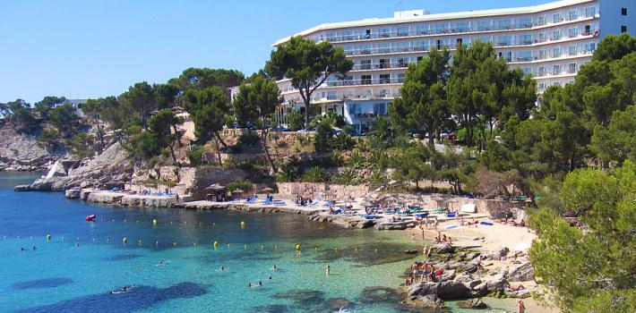 Paguera resort in Majorca