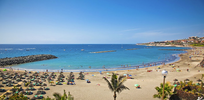 Playa de Las Americas most popular resort in Tenerife