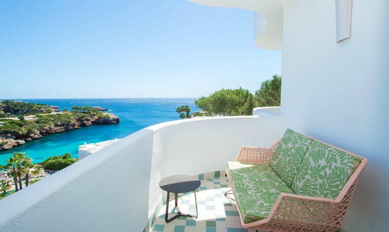 Inturotel Cala Esmeralda premium double room balcony seaview