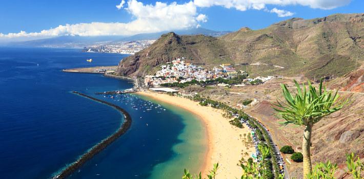 Santa Cruz de Tenerife beach