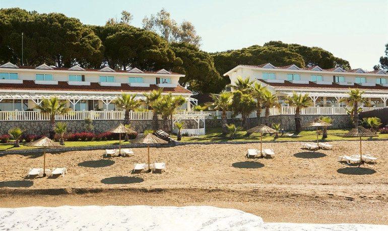 Sentido Flora Garden beach view