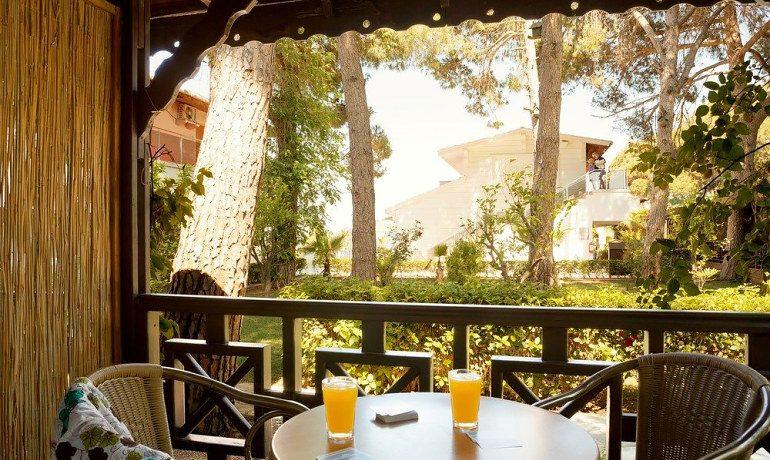 Sentido Flora Garden double room terrace
