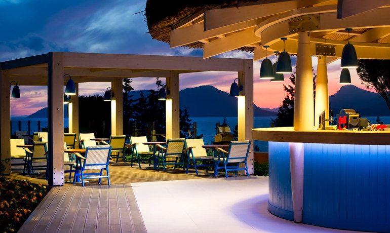 SENTIDO Lykia Resort & Spa blue bar
