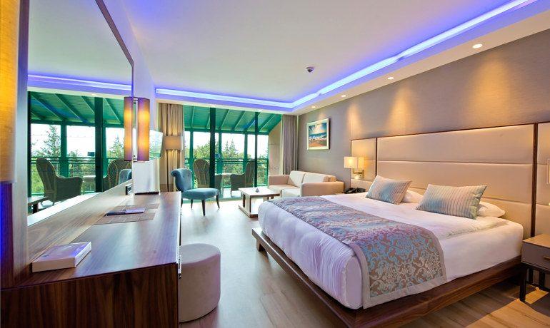 SENTIDO Lykia Resort & Spa double room balcony
