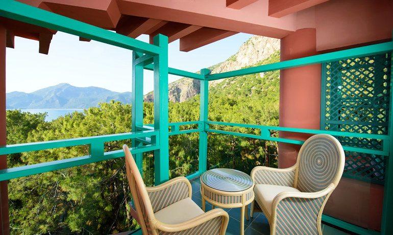 SENTIDO Lykia Resort & Spa double room balcony sea view