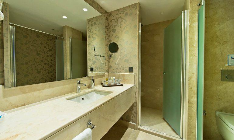 SENTIDO Lykia Resort & Spa double room bathroom