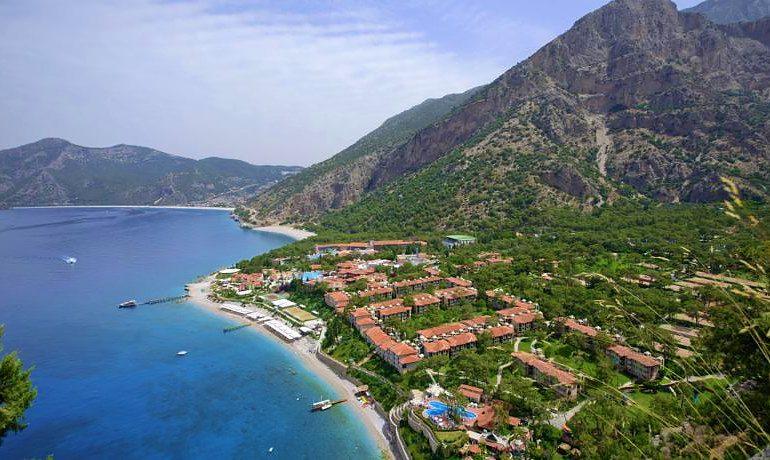 SENTIDO Lykia Resort & Spa hotel aerial view