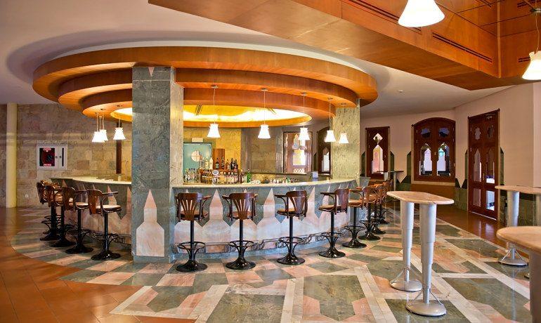 SENTIDO Lykia Resort & Spa lobby bar area