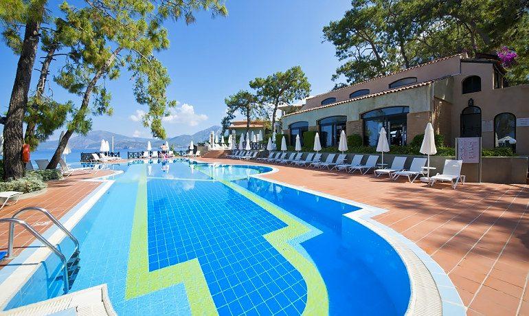 SENTIDO Lykia Resort & Spa pool view