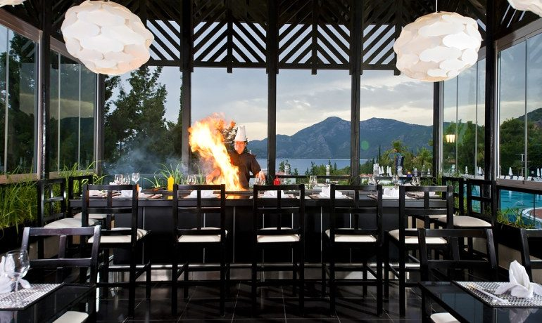 SENTIDO Lykia Resort & Spa sushi a la carte restaurant