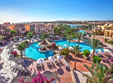 Steigenberger Coraya Beach adults only hotel in Marsa Alam, Egypt