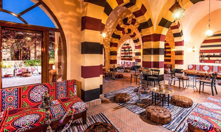 Steigenberger Coraya Beach oriental cafe