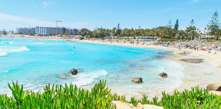 Ayia Napa is most popular resort in Cyprus