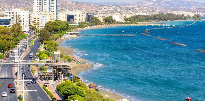 Limassol coast view