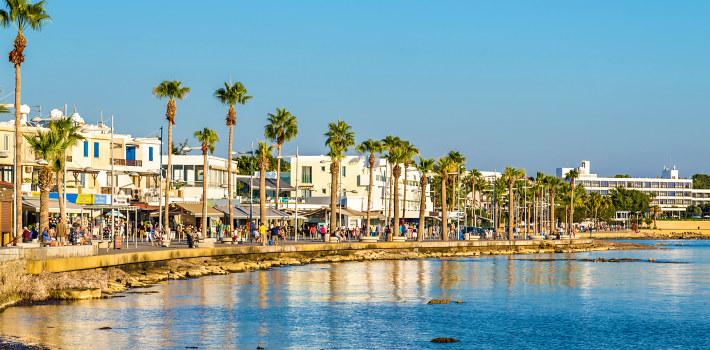 Paphos resort in Cyprus