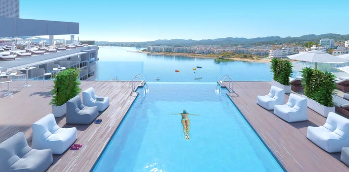 One of the best adults only hotels in Ibiza
