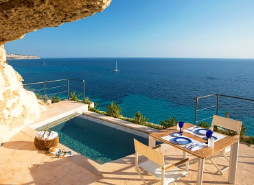 Cap Rocat adults-only hotel in Majorca, Spain