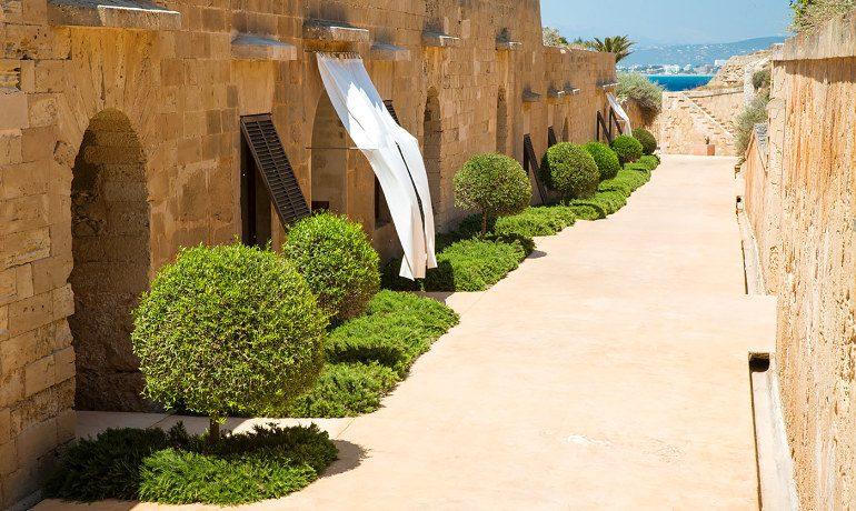 Cap Rocat hotel area