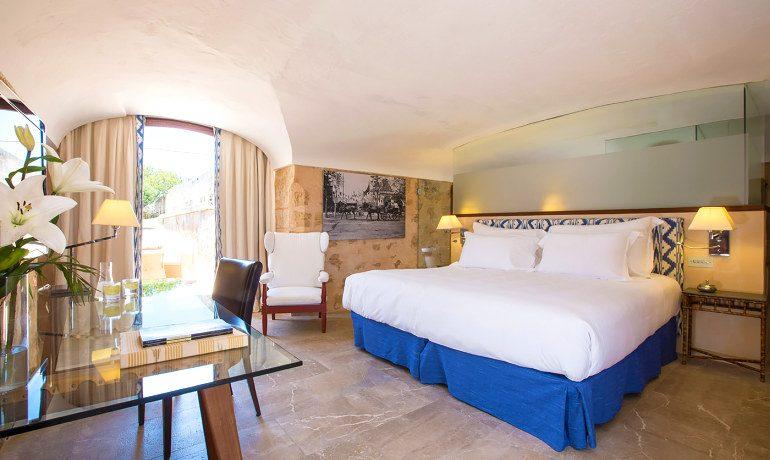 Cap Rocat hotel double fortaleza room