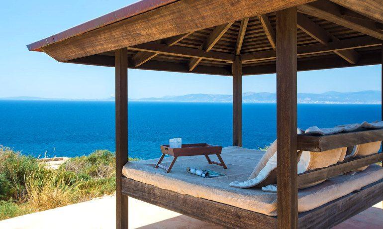 Cap Rocat hotel gazebo