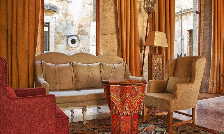 Cap Rocat hotel lounge