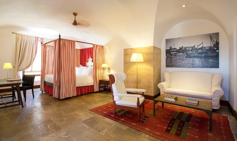 Cap Rocat hotel suite
