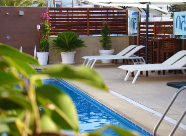 Fleming 50 adults only aparthotel in ibiza