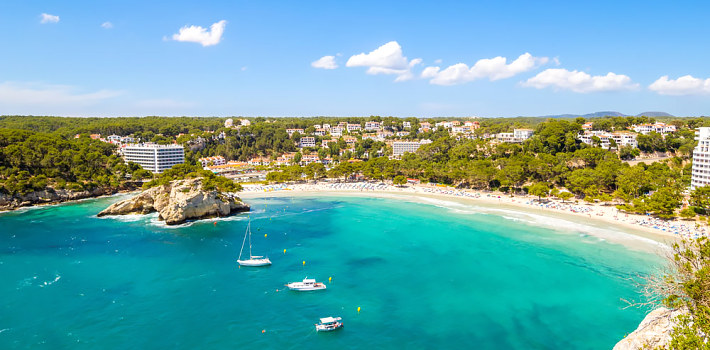 Menorca beautiful adult holiday destination
