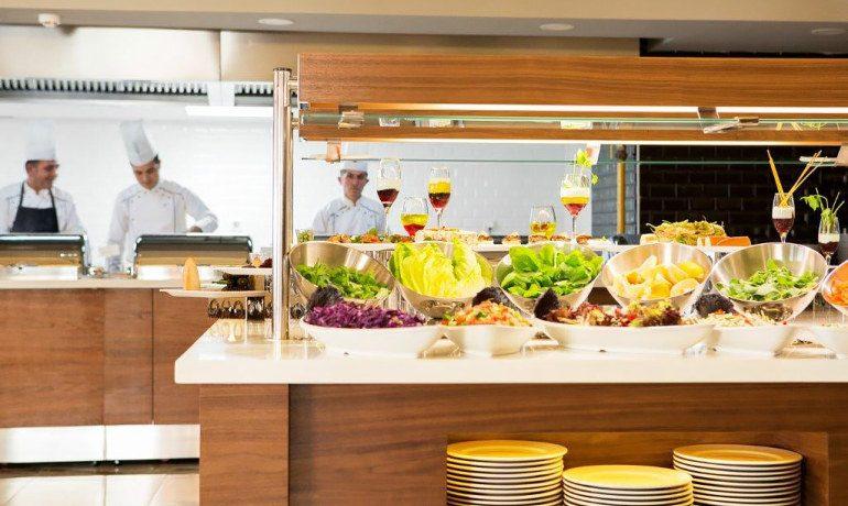 Sunprime C-Lounge main restaurant gastronomy