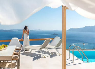Elite Luxury Suites adults-only hotel in Santorini, Greece