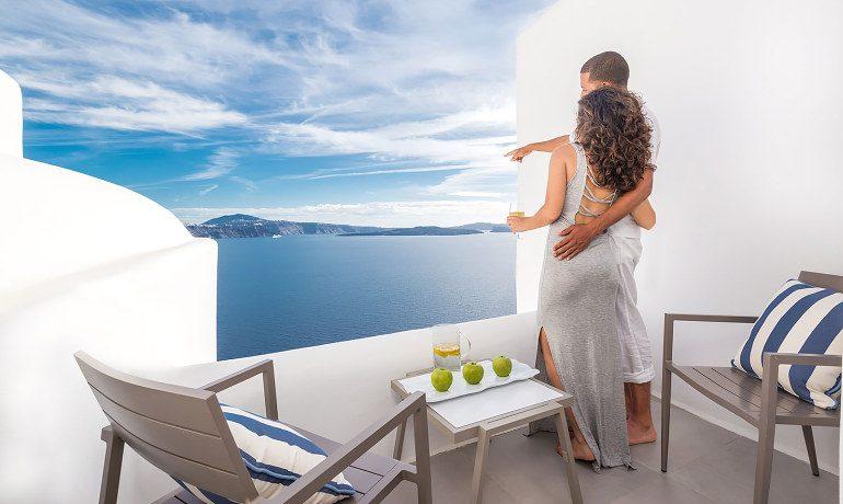 Elite Luxury Suites Santorini elite suite terrace