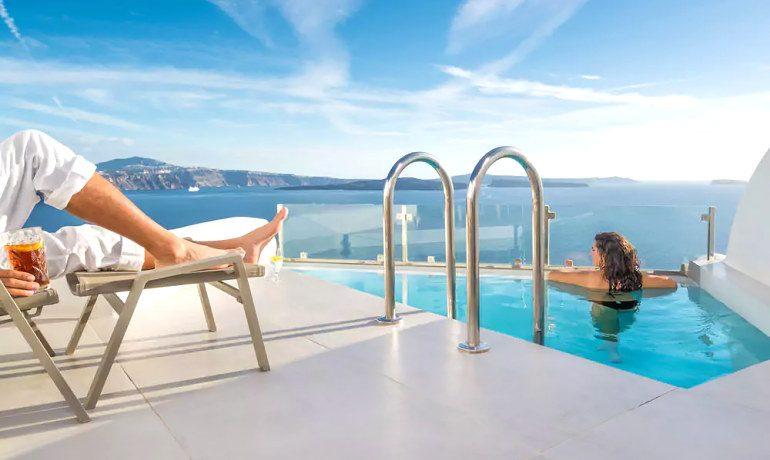 Elite Luxury Suites Santorini relax