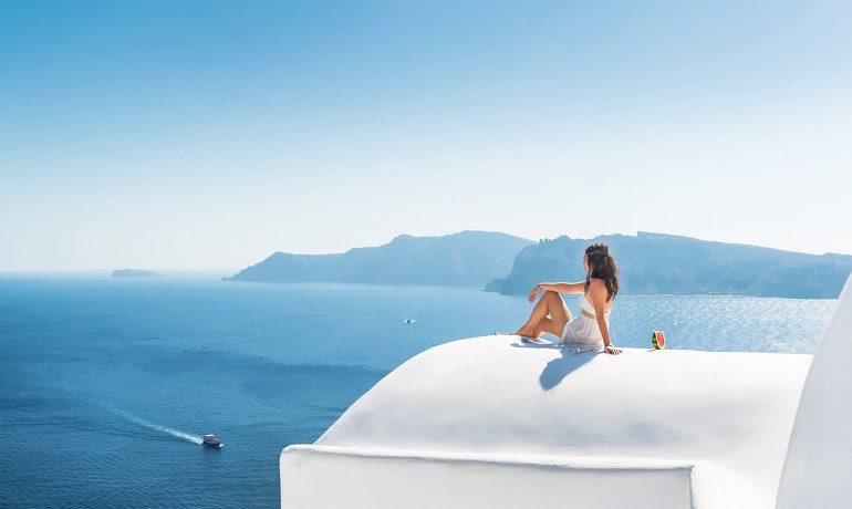 Elite Luxury Suites Santorini sea view