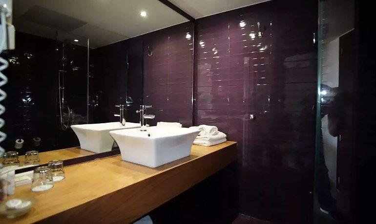 CHC Galini Sea View double room bathroom