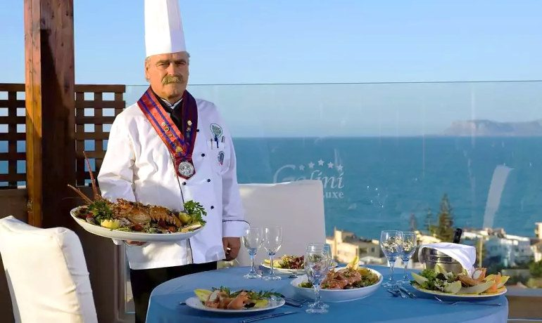 CHC Galini Sea View gastronomy