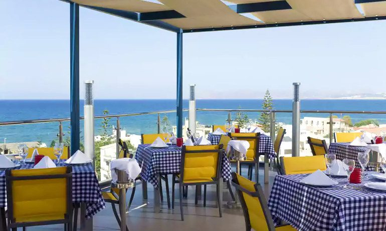 CHC Galini Sea View italian restaurant