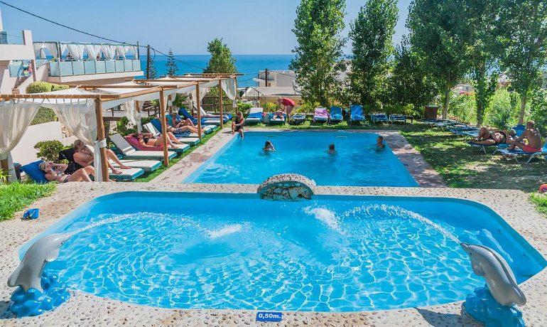 CHC Galini Sea View pool