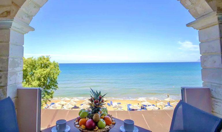 CHC Galini Sea View room balcony