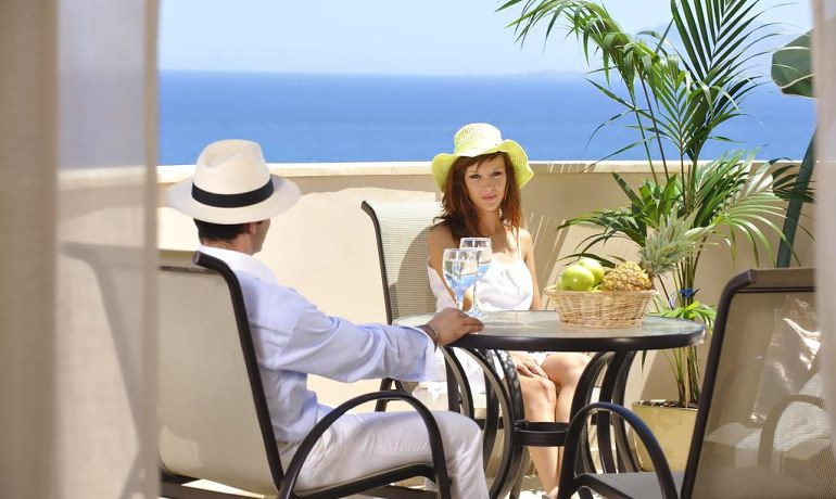 CHC Galini Sea View room terrace