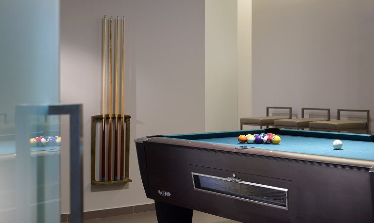 Elysium Boutique Hotel billiards