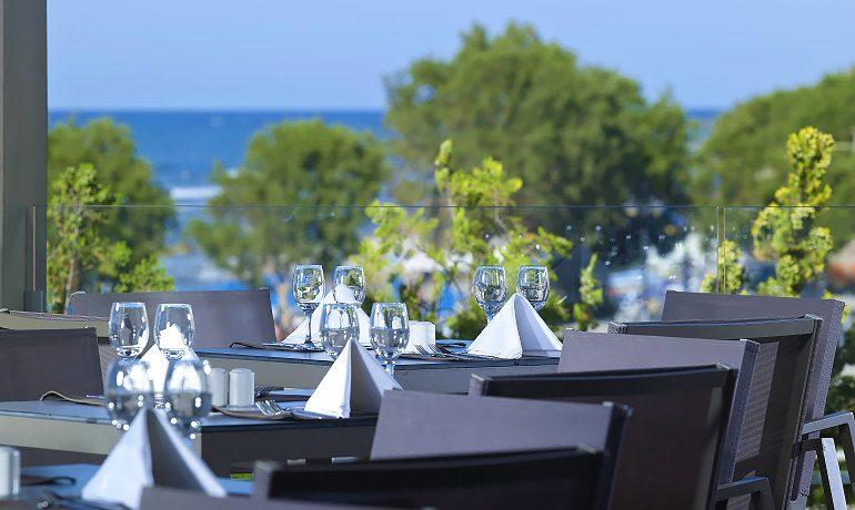 Elysium Boutique Hotel euphoria restaurant terrace