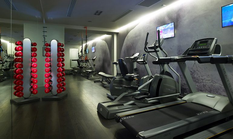 Elysium Boutique Hotel gym