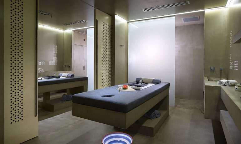 Elysium Boutique Hotel spa area