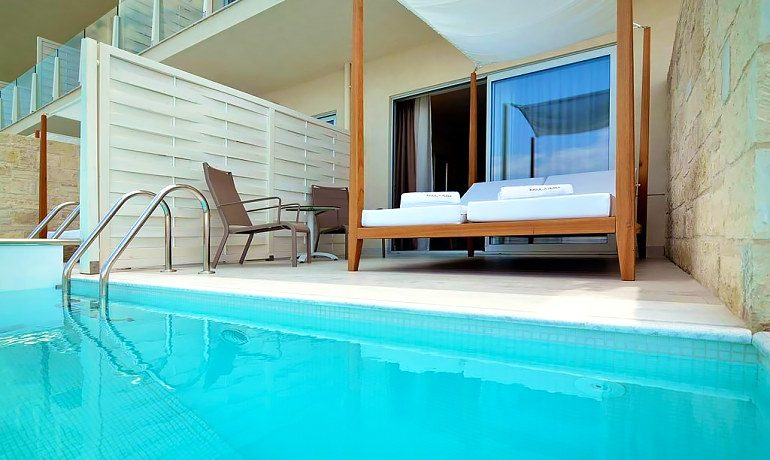 Insula Alba Resort & Spa classic double room private pool