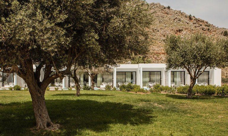 Casa Cook Rhodes garden