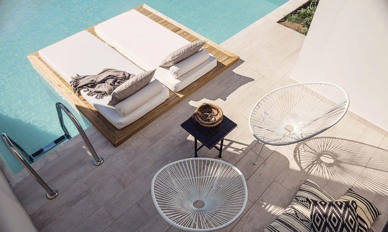 Casa Cook Rhodes loft suite veranda pool