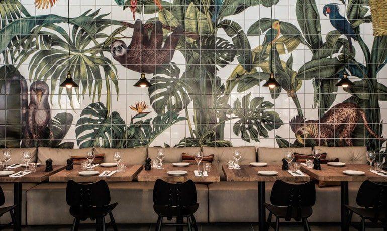 Casa Cook Rhodes restaurant interior